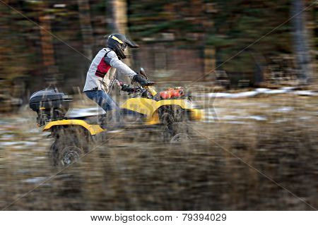 Extreme Quad Bike Riding