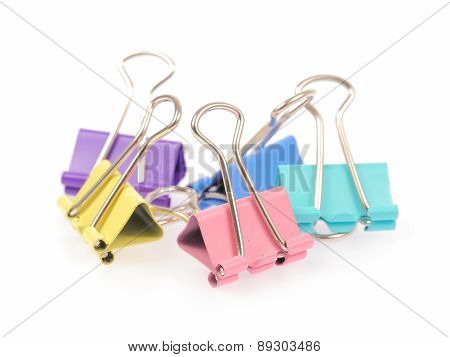 Paper Clip Isolated On White Background