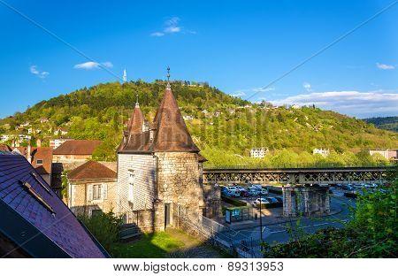 Porte Rivotte, A Gate Of Besancon - France
