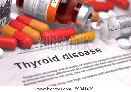 Thyroid Disease - Medical Concept.