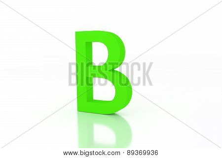 B Letter Green Energy Efficiency
