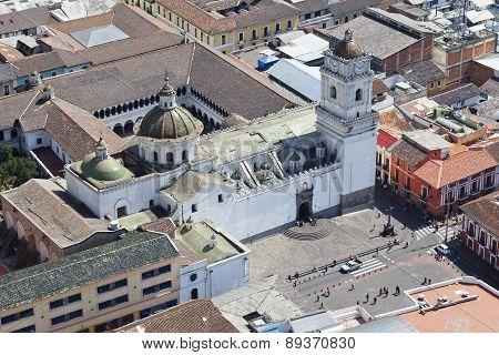 Quito Iglesia De La Merced