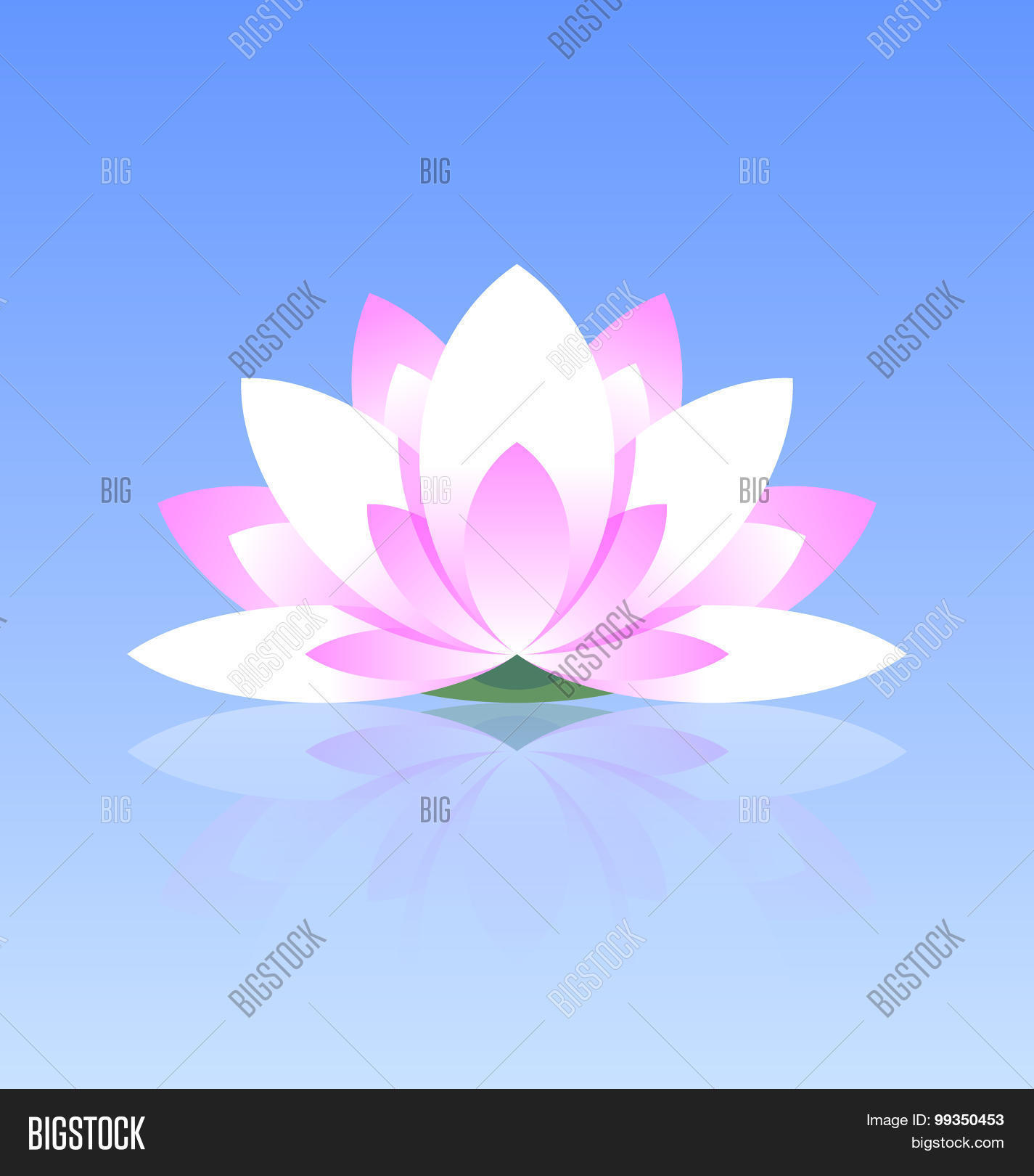 Lotus Flower Icon Vector Photo Free Trial Bigstock