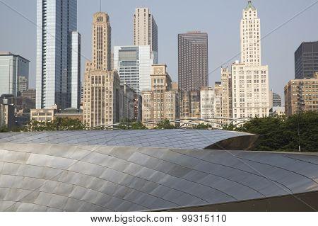 BP walkway in Chicago