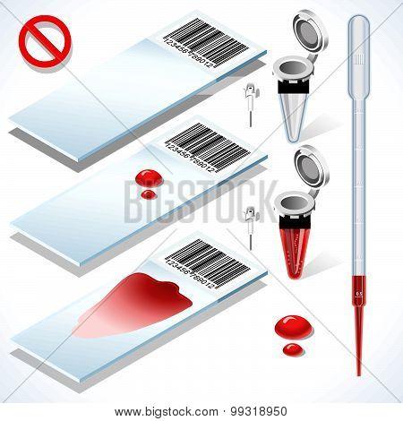 Laboratory Set Object Isometric