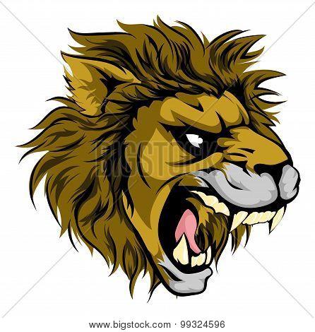 Lion Animal Sports Mascot