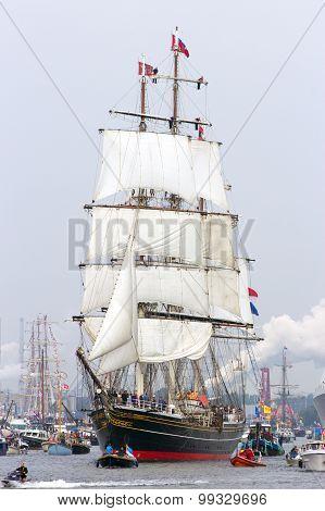 Clipper Sail Ship 'stad Amsterdam'