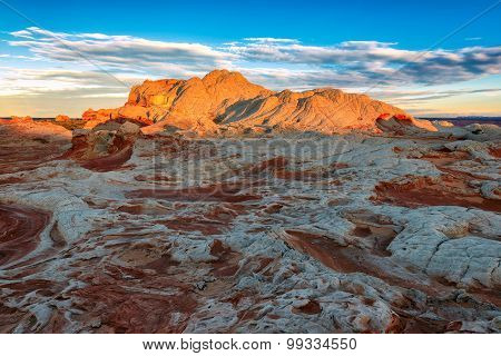 White Pocket at sunrise, Northern Arizona