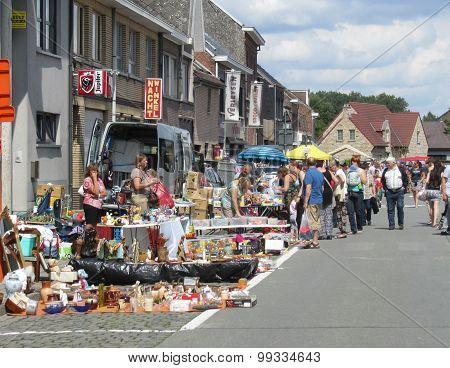 Street Flea Market, Belgium