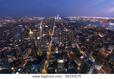 Midtown To Downtown Manhattan