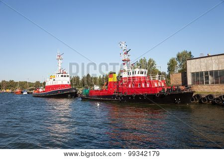 Fire Rescue Ship