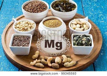 Products Containing Magnesium (mg)