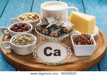 Products Containing Calcium (ca)