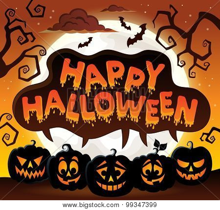 Happy Halloween topic image 8 - eps10 vector illustration.