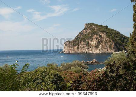 Island Of Corfu.