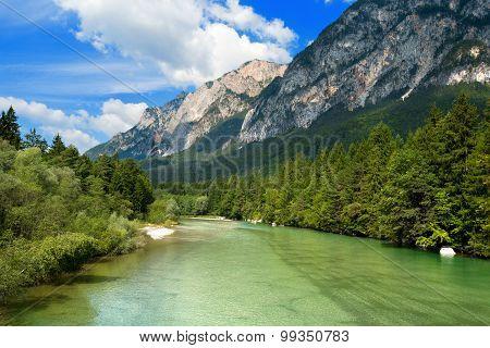 Gail River - Carinthia Austria