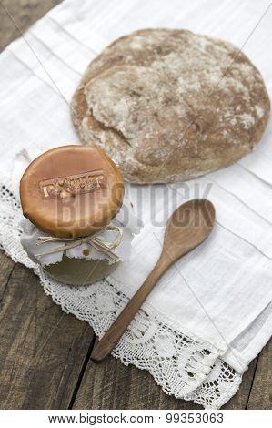 Fresh Hummus In Jar