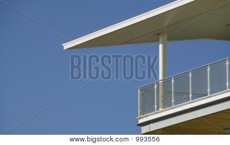 Dramatic Balcony