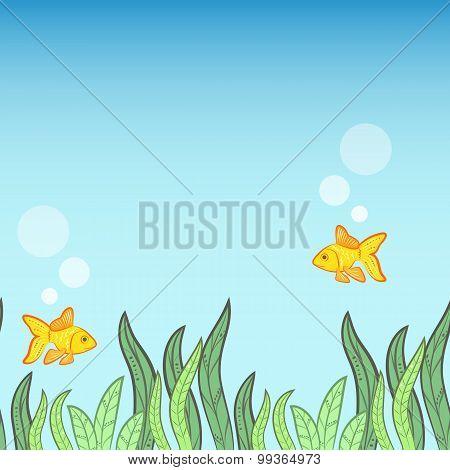 Underwater Game Background