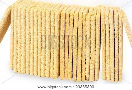 Wholemeal crispbreads - healthy diet