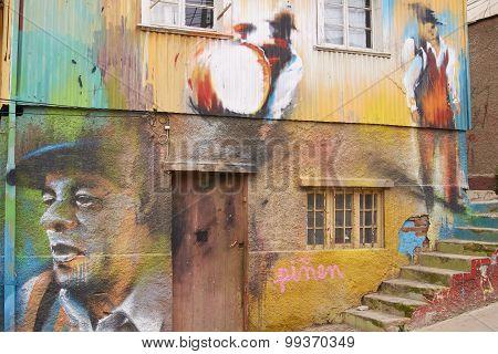 Urban Art of Valparaiso