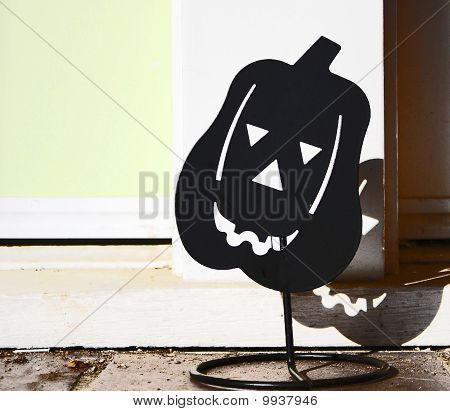 Halloween Candle Holder