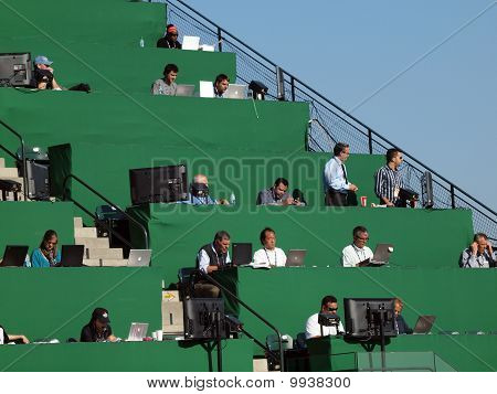 Overflow Media In The Upperdeck View Reserved At At&t Park