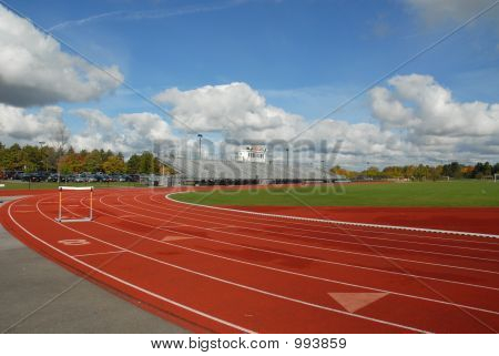 Track With Hurdle