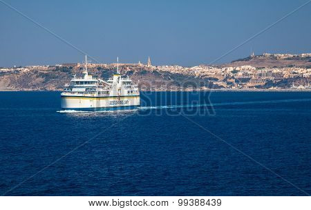 Ferry From Malta To Gozo Island