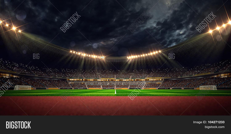 Night Stadium Arena Image & Photo (Free Trial) | Bigstock