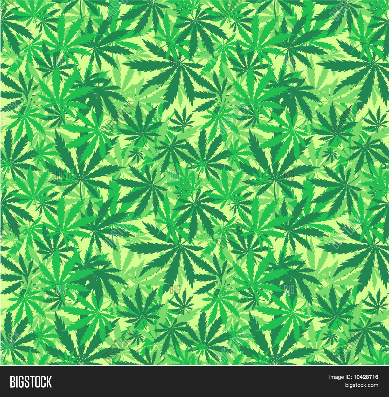 Cannabis Wallpaper Vector Photo Free Trial