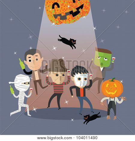 happy halloween dance