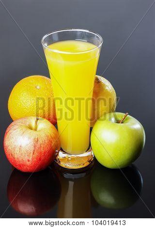 Juice, Apple, Orange,lemon