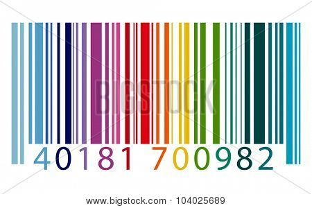 Bar Code Digital Technology Concept