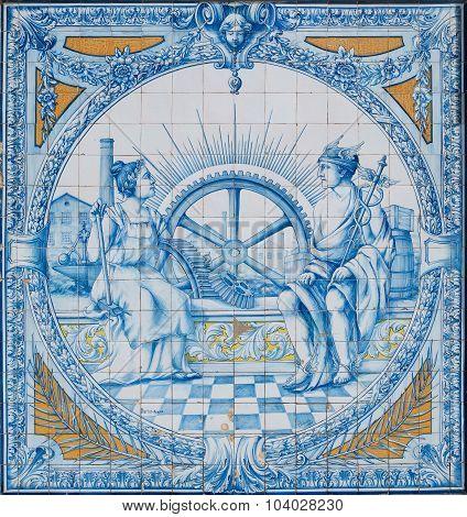 Azulejo Tiles As A Decor