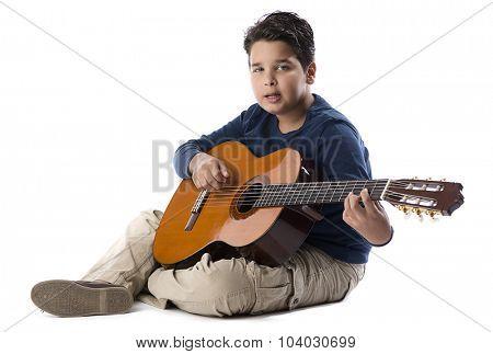 Child Guitarist