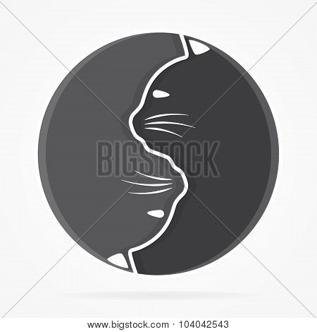 Vector logo or icon design element for companies poster