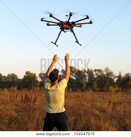 Starting copter
