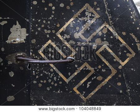 Damaged Nazi Insignia