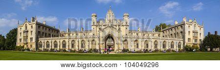 St. John's College In Cambridge