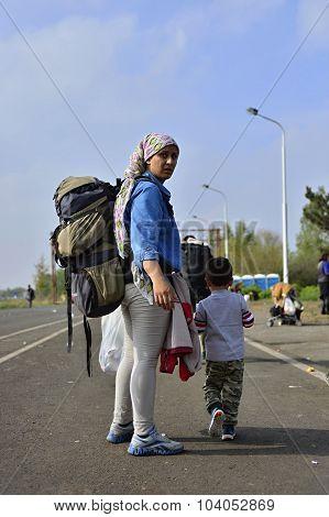 Refugees Leaving Hungary