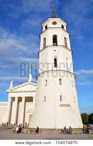 Details of the Cathedral of Vilnius