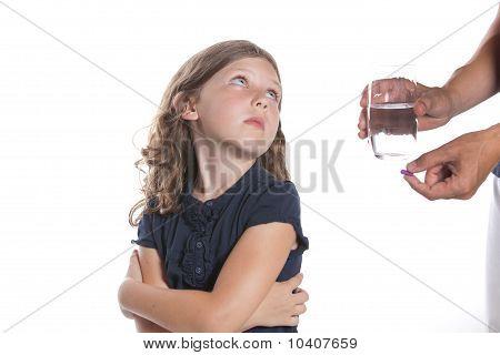 Kid Won't Take Pill