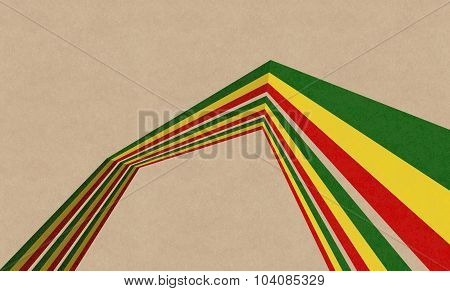Abstract Rasta Background