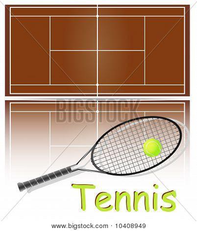 Набор предметов для тенниса