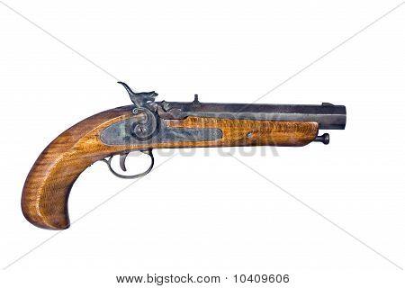 Flintlock Pistol Isolated