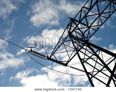 Electric High Voltage Line 2