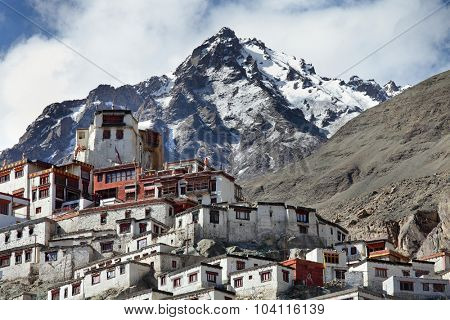 Diskit gompa – Buddhist monastery in the Nubra Valley of Ladakh, Jammu & Kashmir