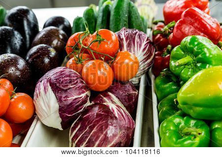 Washed Vegetables