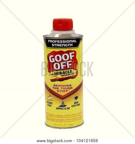 Can Of Goof Off Remover